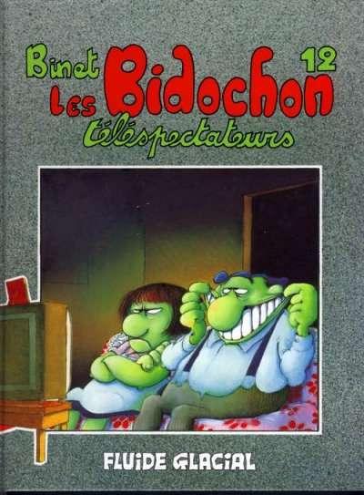 Couverture de Les bidochon -12- Les Bidochon téléspectateurs