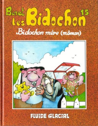 Couverture de Les bidochon -15- Bidochon mère (môman)