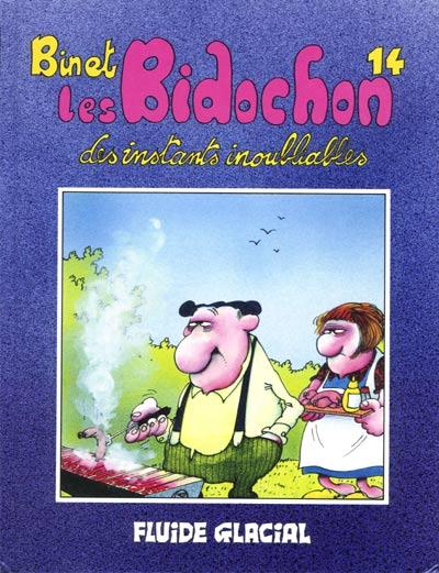 Couverture de Les bidochon -14- Des instants inoubliables