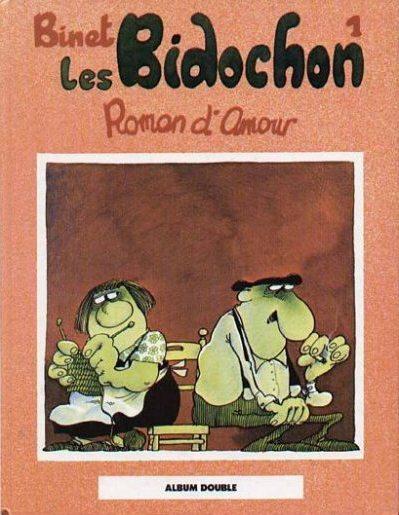 Couverture de Les bidochon (France Loisirs - Album Double) -1- Roman d'amour / En vacances