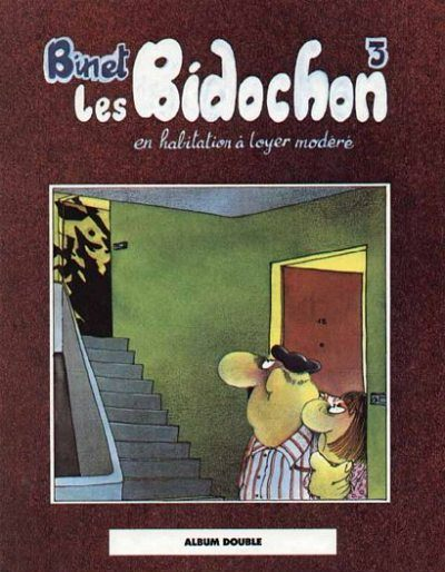 Couverture de Les bidochon (France Loisirs - Album Double) -2- En habitation à loyer modéré / Maison, sucrée maison