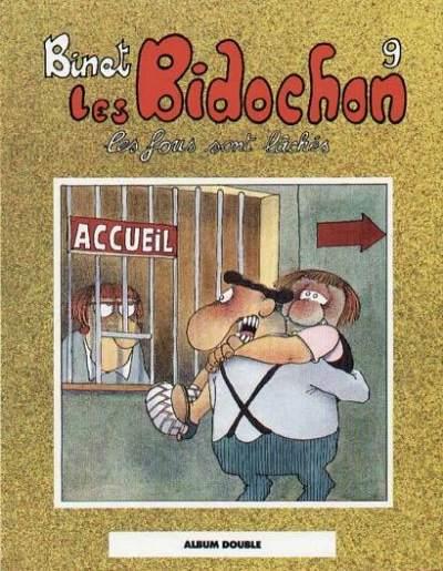 Couverture de Les bidochon (France Loisirs - Album Double) -5- Les fous sont lâchés / Usagers de la route