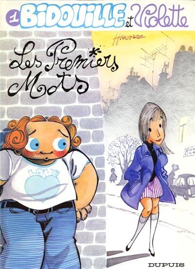 Couverture de Bidouille et Violette -1- Les premiers mots