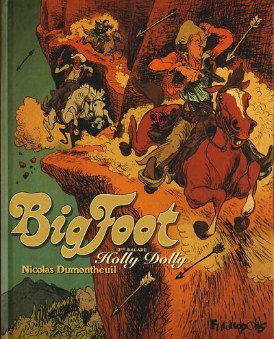 Couverture de Big Foot -2- Holly Dolly