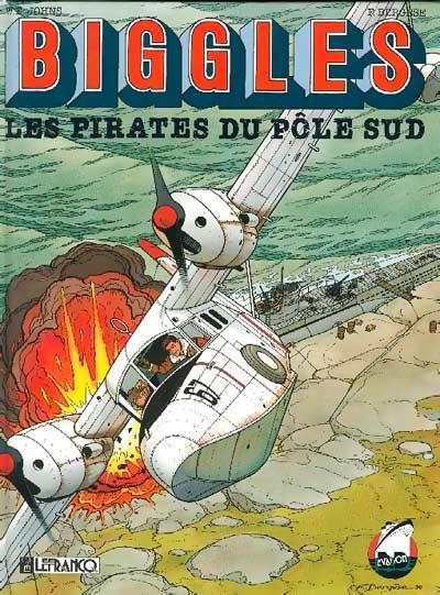 Couverture de Biggles -2- Les pirates du Pôle Sud