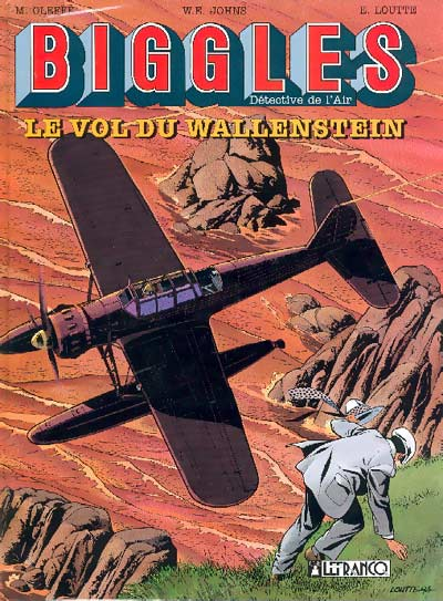 Couverture de Biggles -5- Le vol du Wallenstein