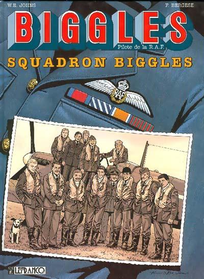 Couverture de Biggles -6- Squadron Biggles