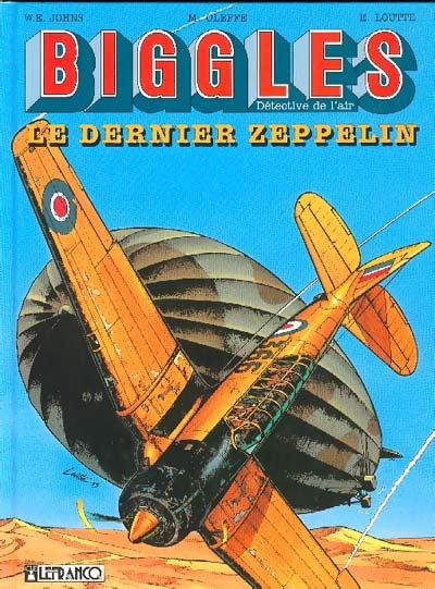 Couverture de Biggles -7- Le dernier Zeppelin