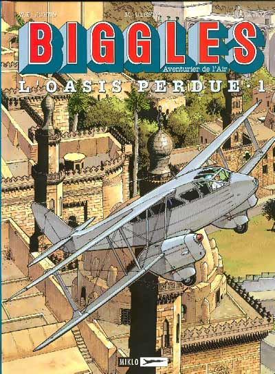 Couverture de Biggles -15- L'Oasis perdue 1