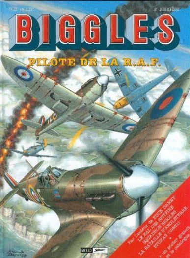 Couverture de Biggles -INT- Pilote de la R.A.F.