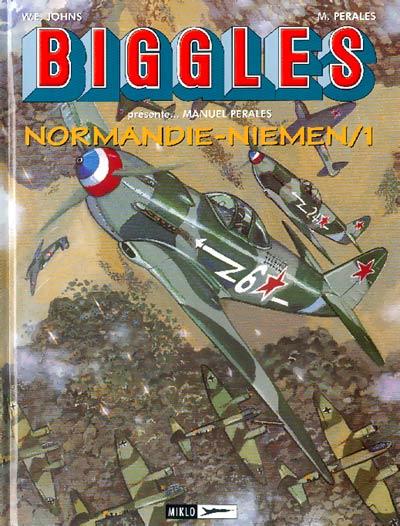 Couverture de Biggles présente... -9- Normandie-Niemen/1