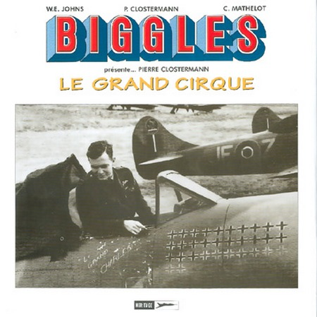 Couverture de Biggles présente... -HS- Le grand cirque