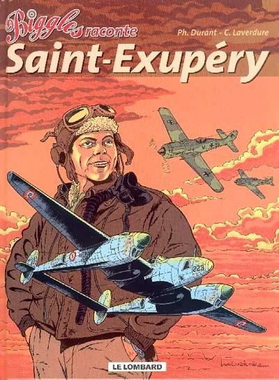 Couverture de Biggles raconte -5- Saint-Exupéry