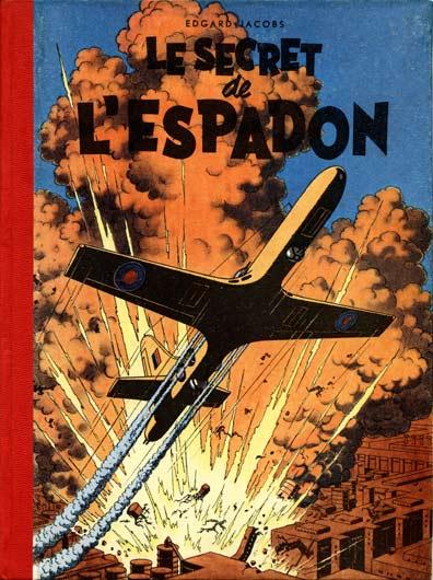Couverture de Blake et Mortimer (Historique) -1- Le Secret de l'Espadon