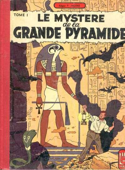 Couverture de Blake et Mortimer (Historique) -3- Le Mystère de la Grande Pyramide - Tome I