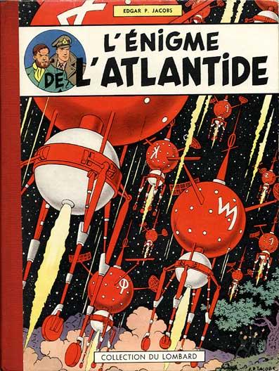 Couverture de Blake et Mortimer (Historique) -6- L'Énigme de l'Atlantide