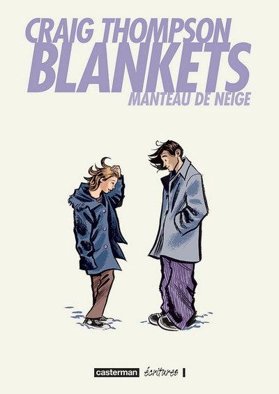 Couverture de Blankets - Manteau de neige