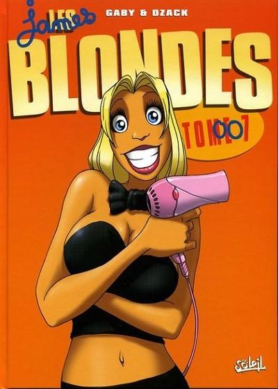 Couverture de Les blondes -7- Les James Blondes 007