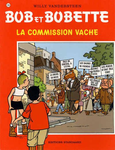 Couverture de Bob et Bobette -268- La commission vache
