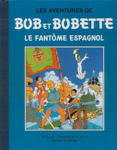 Couverture de Bob et Bobette (Collection classique bleue) -1- Le fantôme espagnol
