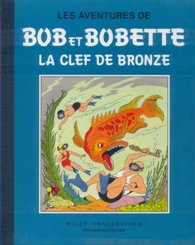 Couverture de Bob et Bobette (Collection classique bleue) -2- La clef de bronze