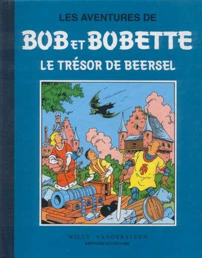 Couverture de Bob et Bobette (Collection classique bleue) -4- Le Trésor de Beersel
