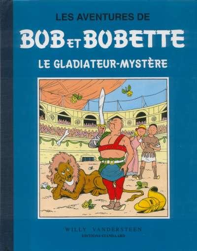 Couverture de Bob et Bobette (Collection classique bleue) -5- Le gladiateur-mystère