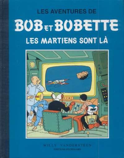 Couverture de Bob et Bobette (Collection classique bleue) -6- Les martiens sont là