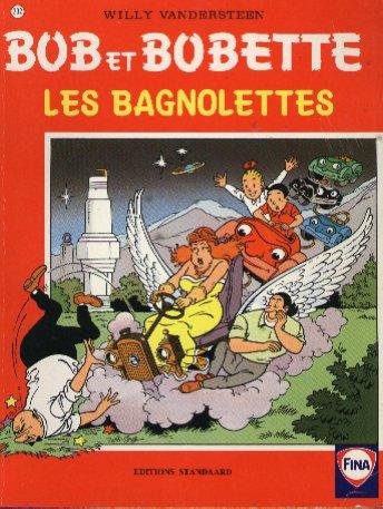 Couverture de Bob et Bobette (Publicitaire) -Fina- Les Bagnolettes