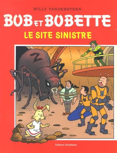 Couverture de Bob et Bobette (Publicitaire) - Le site sinistre