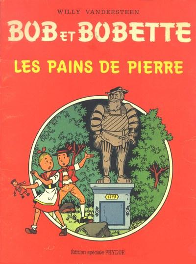 Couverture de Bob et Bobette (Publicitaire) -Ph6- Les Pains de pierre