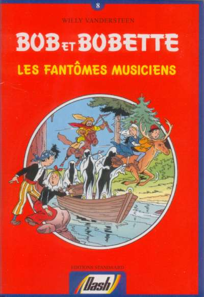 Couverture de Bob et Bobette (Publicitaire) -Da08- Les fantômes musiciens