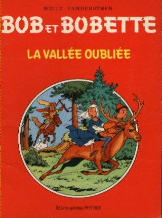 Couverture de Bob et Bobette (Publicitaire) -Ph4- La Vallée oubliée