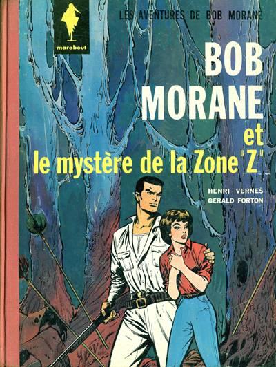 Couverture de Bob Morane 1 (Marabout) -6- Le mystère de la Zone