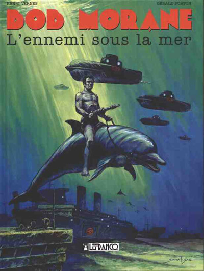 Couverture de Bob Morane 4 (Lefrancq) -12- L'ennemi sous la mer