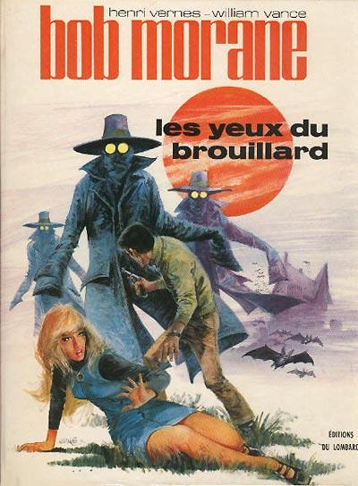 Couverture de Bob Morane 3 (Lombard) -13- Les Yeux du brouillard