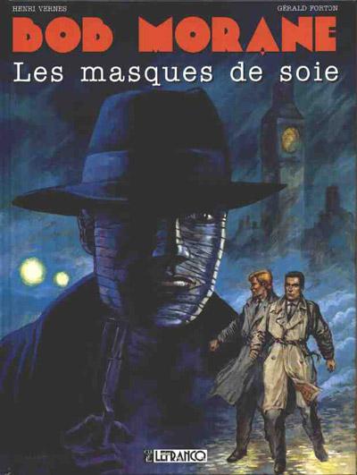 Couverture de Bob Morane 4 (Lefrancq) -13- Les masques de soie