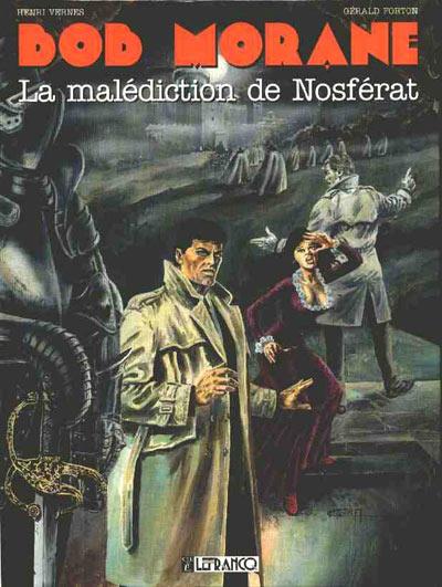 Couverture de Bob Morane 4 (Lefrancq) -15- La malédiction de Nosférat