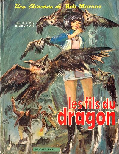 Couverture de Bob Morane 2 (Dargaud) -12- Les fils du dragon