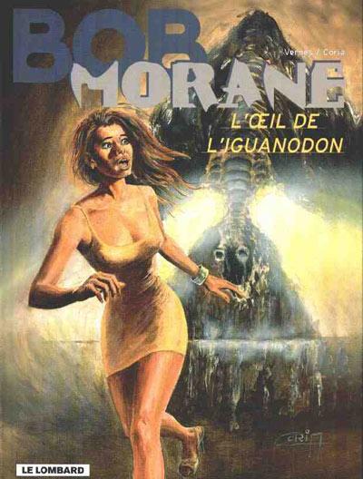 Couverture de Bob Morane 3 (Lombard) -56- L'œil de l'iguanodon