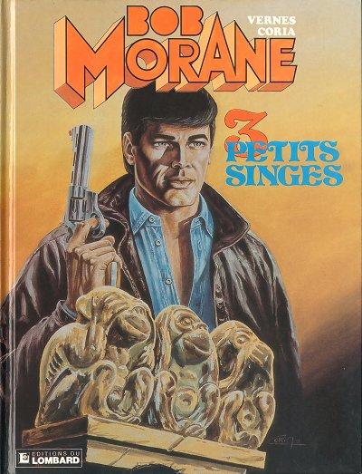 Couverture de Bob Morane 3 (Lombard) -44- Trois petits singes