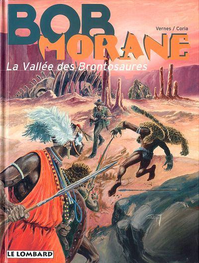 Couverture de Bob Morane 3 (Lombard) -51- La vallée des brontosaures