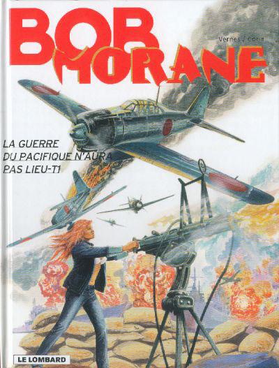 Couverture de Bob Morane 3 (Lombard) -61- La guerre du Pacifique n'aura pas lieu - T1