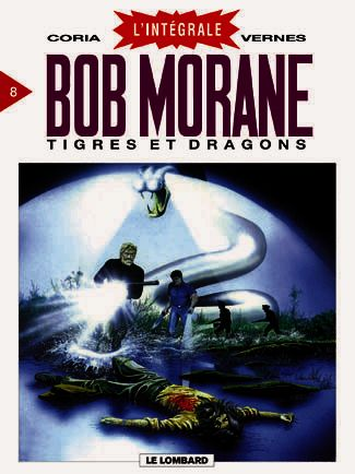 Couverture de Bob Morane 8 (Intégrale Dargaud-Lombard) -8- Tigres et dragons