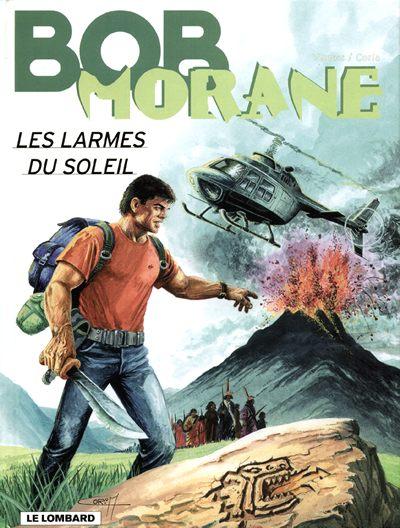 Couverture de Bob Morane 3 (Lombard) -60- Les larmes du soleil