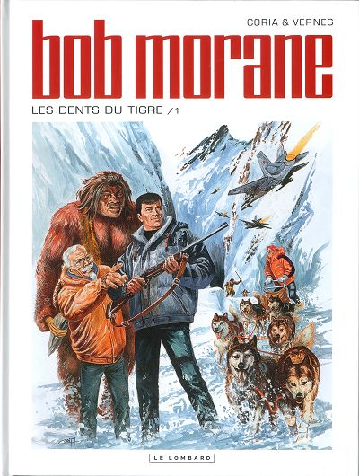 Couverture de Bob Morane 3 (Lombard) -64- Les dents du tigre (1)