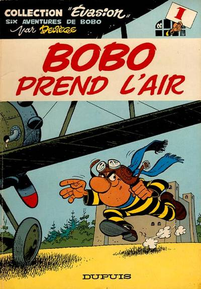 Couverture de Bobo -1- Bobo prend l'air