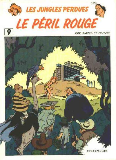 Couverture de Boulouloum et Guiliguili (Les jungles perdues) -9- Le péril rouge
