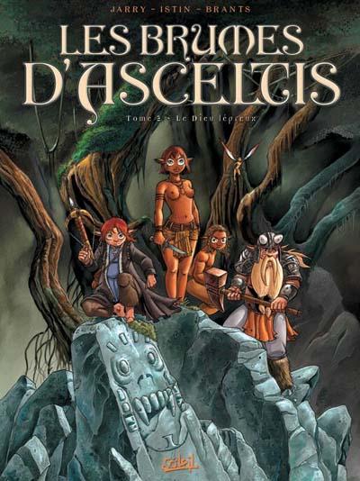 Couverture de Les brumes d'Asceltis -2- Le Dieu lépreux