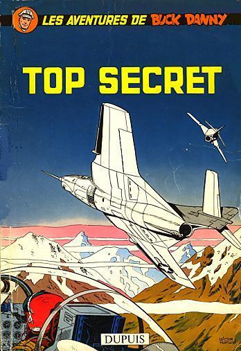 Couverture de Buck Danny -22- Top secret